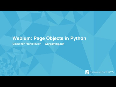 Webium: Page Objects in Python