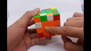 Resolver el cubo Rubik 4x4 facil con reduccion, método básico y paridades