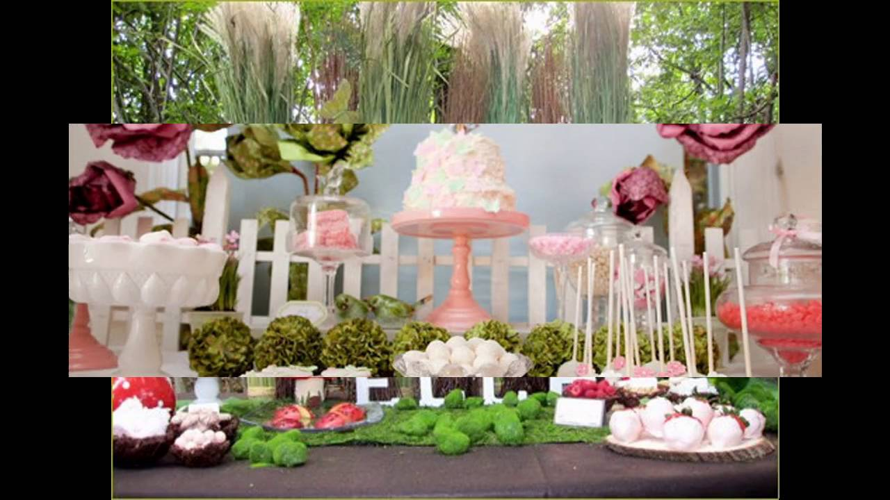 Fairy Birthday Party Themed Decorating Ideas Youtube