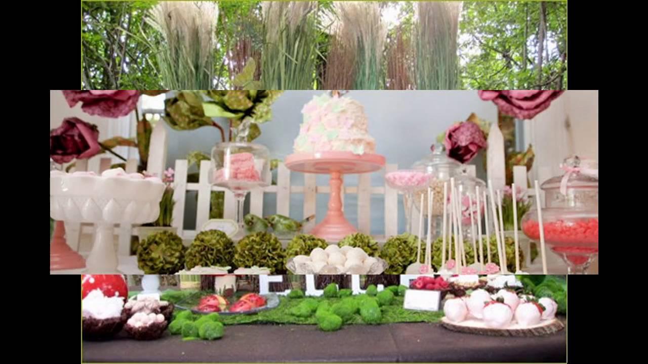 Fairy Birthday Party Decorations Fairy Birthday Party Themed Decorating Ideas Youtube