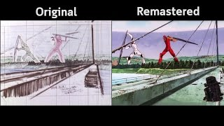 The End of Evangelion Preview Comparison