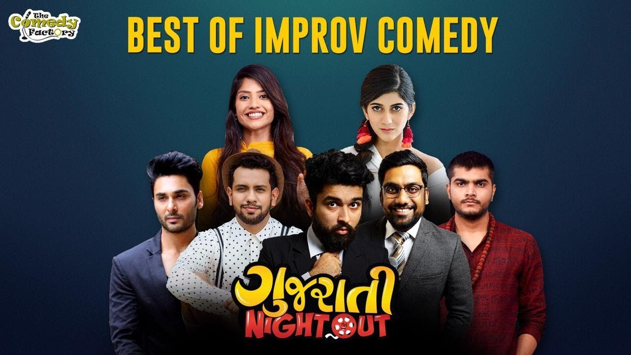 IMPROV COMEDY ft.  Shu Thayu? || Gujarati Night Out 2018 || The Comedy Factory #1