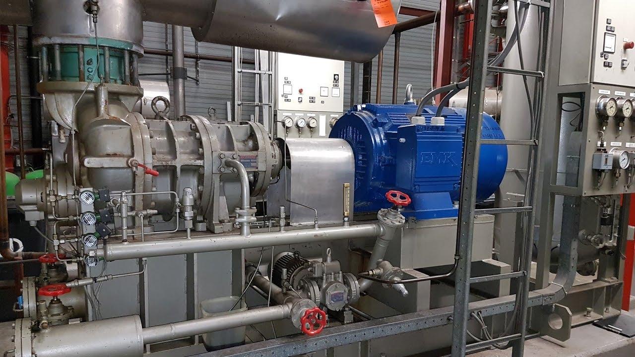 Mycom 250SUD-LBE screw compressor unit
