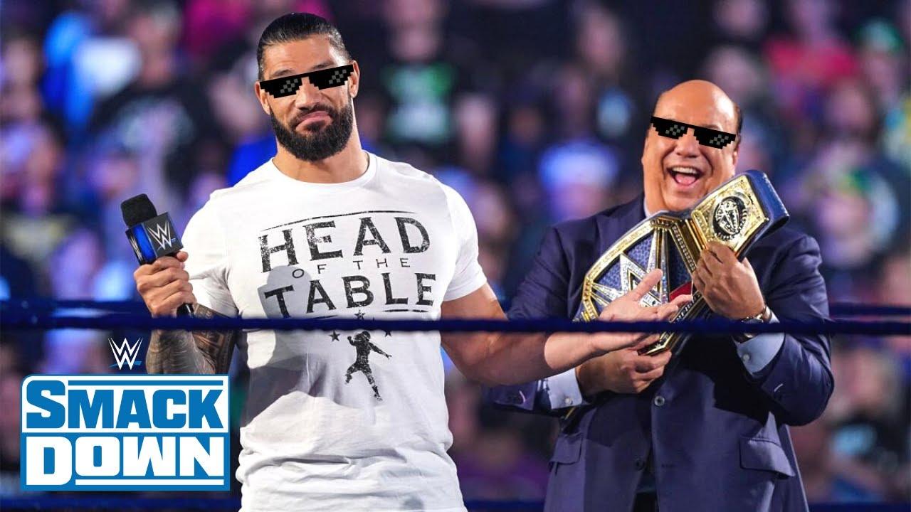 Roman Reigns Répond à John Cena! Résultats WWE Smackdown 23 Juillet 2021