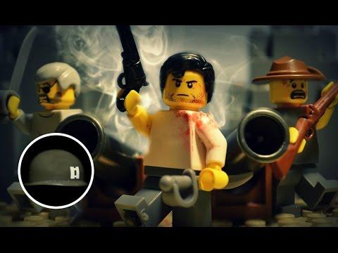 LEGO® American Civil War: JOHN FREEMAN   BRICKFILM (8 Minute War Film)