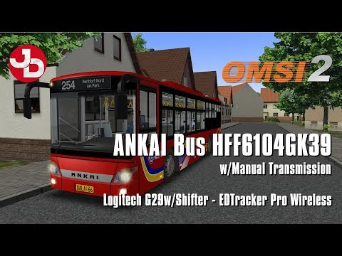 OMSI 2 - ANKAI Bus HFF6104GK39 - New Bus Line 254 1440p 60fps