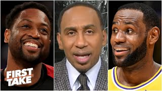 Stephen A.: Dwyane Wade is the greatest teammate LeBron has ever had | First Take
