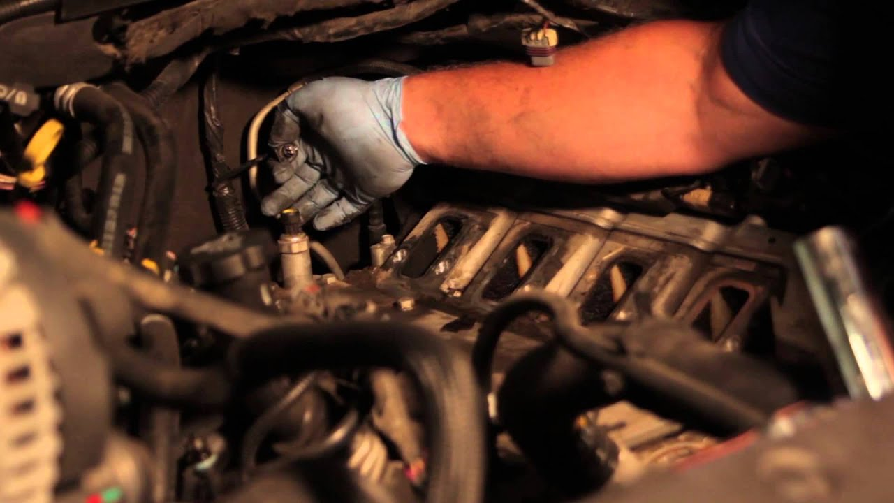 gm 6 2l oil pressure switch installation youtube 2004 chevy tahoe alternator wiring diagram