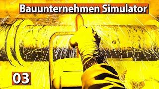 BAUUNTERNEHMEN SIMULATOR 🏗️ Rohre schneiden ► #3 Demolish And Build 2018 deutsch