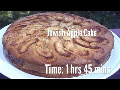 Jewish Apple Cake Recipe