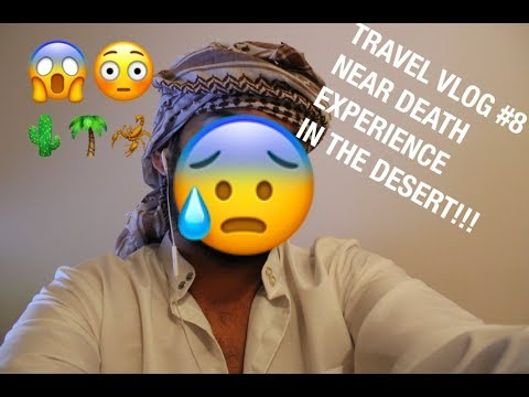 TRAVEL VLOG #8,  ABU DHABI PART 2 ESCAPED DESERT AFTER SEVERAL HOURS *NEAR DEATH EXPERIENCE*