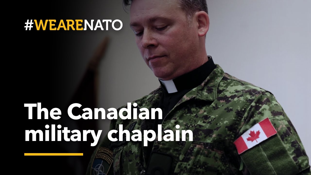 Called to serve: the 🇨🇦Canadian military chaplain - #WeAreNATO #CanadaDay2020