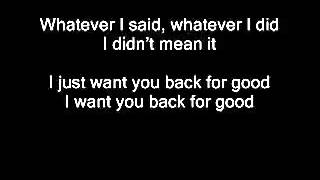 Take That   Back For Good Boyce Avenue cover lyrics