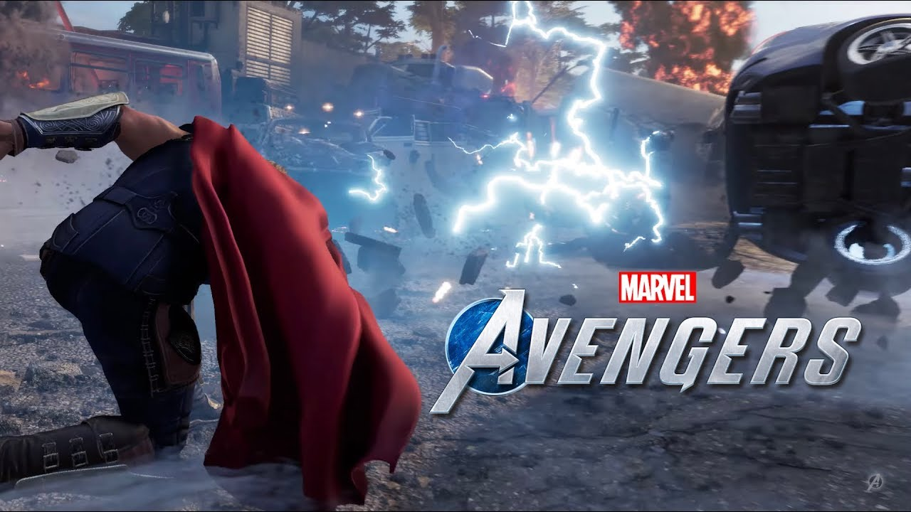Early Gameplay of Marvel's Avengers from SQUARE ENIX