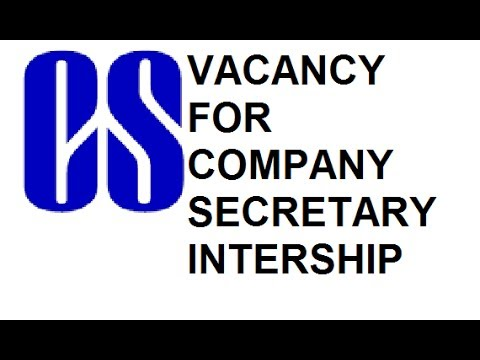 HOW TO GET INTERNSHIP FOR COMPANY SECRETARY