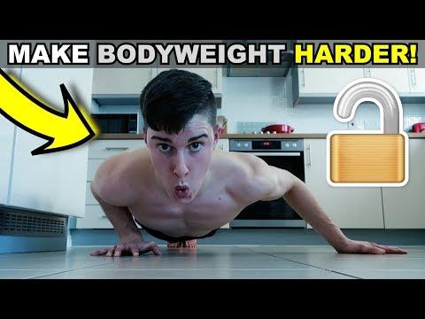 How To Make Bodyweight Exercises Harder �� (5 BEST METHODS!)