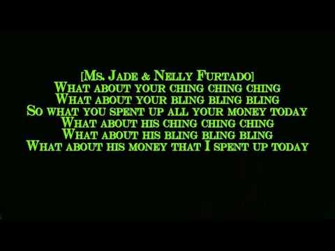 Ms. Jade - Ching Ching (ft. Timbaland & Nelly Furtado) [lyrics on screen]