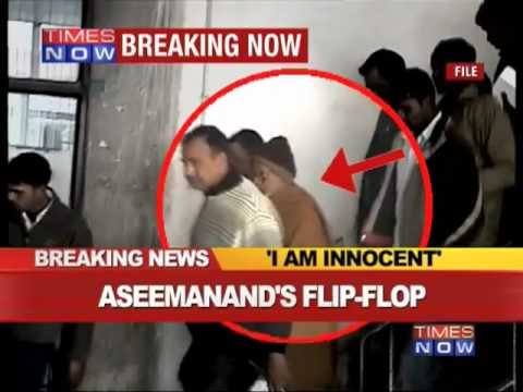 Swami Aseemanand breaks his silence