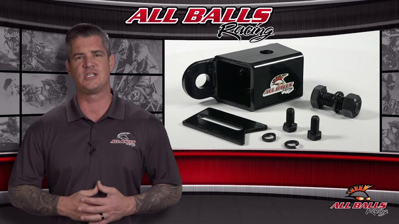 "New All Balls Racing EZ Hitch 1-7//8/"" ball 43-1003 For Polaris Ranger 500 ETX 17"