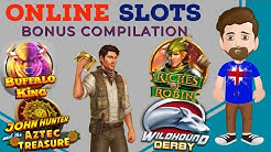 ONLINE SLOTS BONUS COMPILATION - Valletta Megaways, Buffalo King, Wild Blood II + more