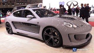 2017 Porsche 970 Panamera Gemballa Mistrale - Exterior Interior Walkaround - 2017 Geneva Motor Show