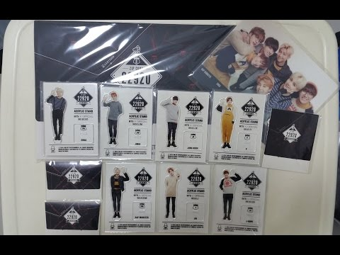 [UNBOXING] BTS 2nd Muster Fanmeeting ZIPCODE: 22920 Goods