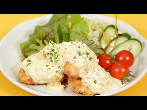 Chicken Nanban Recipe   Cooking with Dog