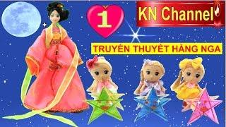 Đồ chơi trẻ em ĐÈN TRUNG THU CHO BÚP BÊ CHIBI tập 1 RƯỚC CHỊ HẰNG NGA Barbie Doll Kids toys