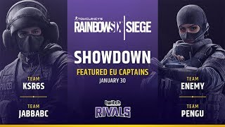 Team Pengu vs Team JabbaBC @Clubhouse | Twitch Rivals - Europe (30.01.2019)