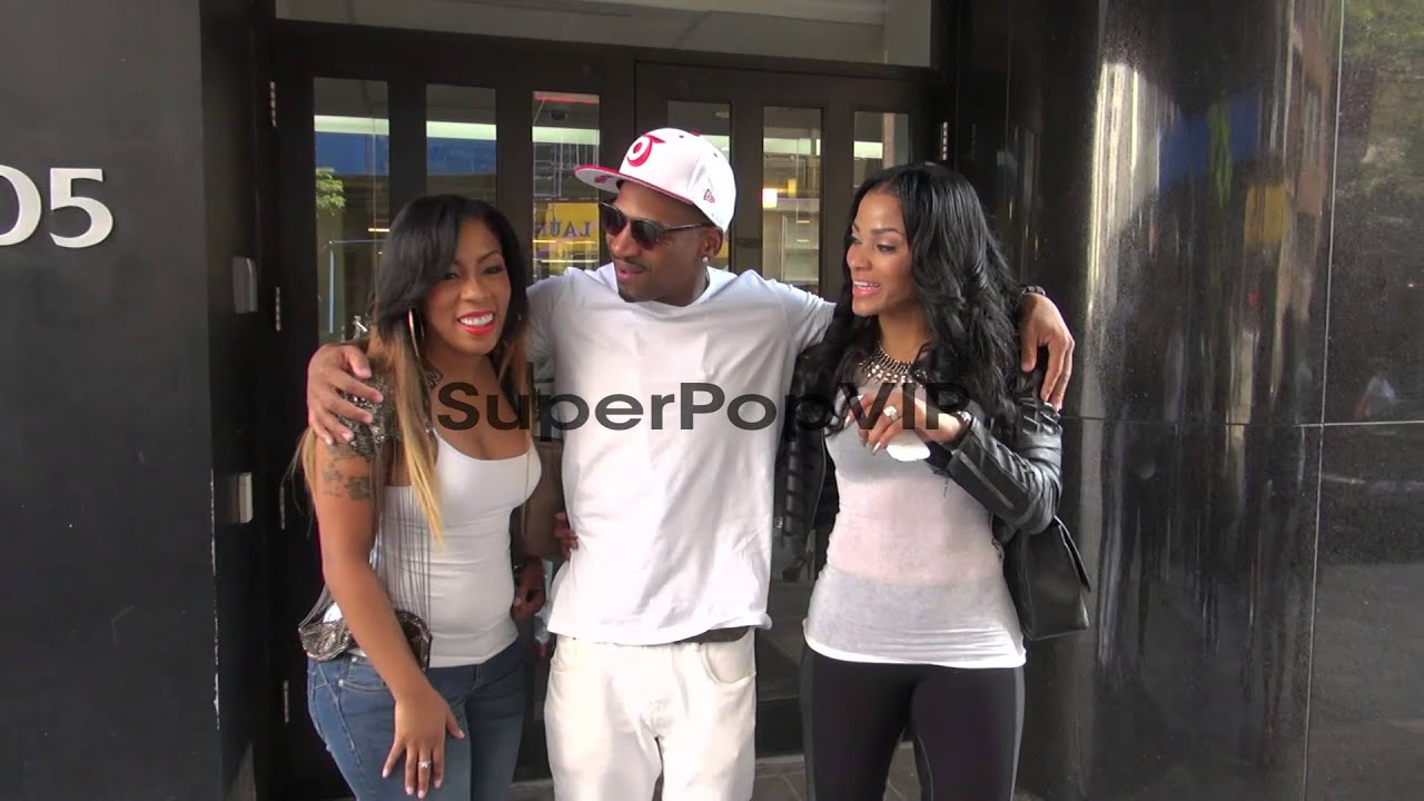 K. Michelle, Stevie J and Joseline Hernandez exit Good D ... K Michelle And Joseline Hernandez