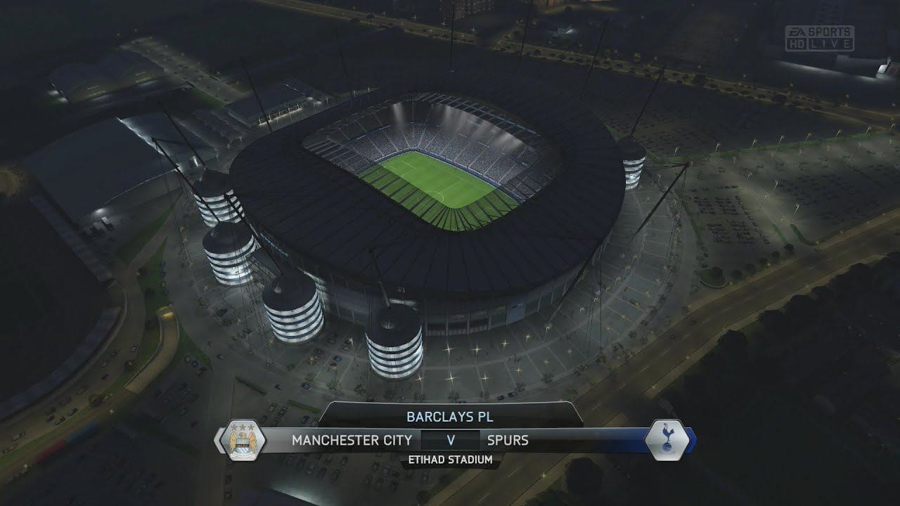 Real Madrid Wallpaper Full Hd Ps4 Fifa 14 Manchester City Vs Spurs Full Gameplay