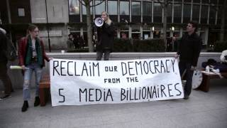 Tina Louise Rothery Speaking at occupy murdoch 23-03-2015