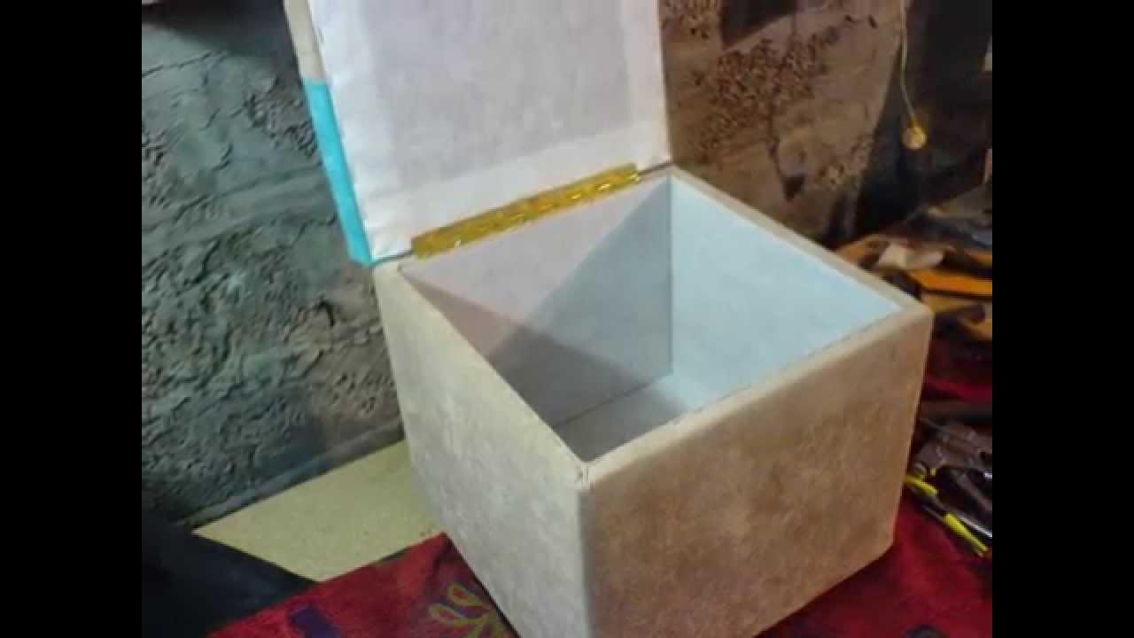 Изготовление пуфика своими руками видео фото 836
