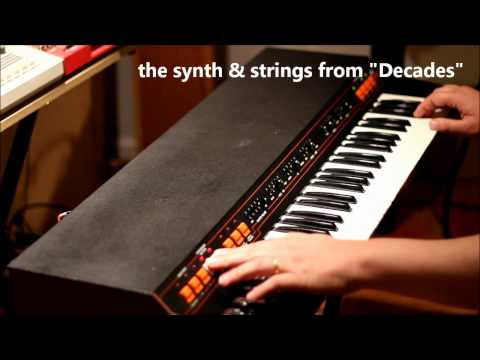 ARP Omni-2 - the classic Joy Division keyboard