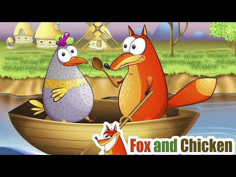 Row, Row Your Boat Song + More Nursery Rhymes & Kids Songs - Fox And Chicken