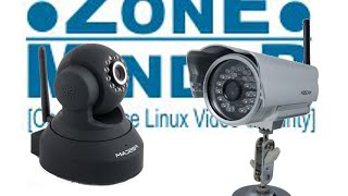 Zoneminder install easy fast like a man! tutorial with foscam ip cameras free