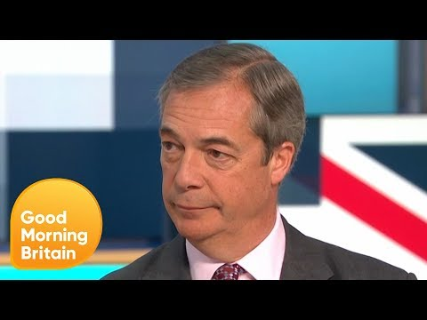 Nigel Farage Offers Boris Johnson a Non-Aggression Election Pact | Good Morning Britain