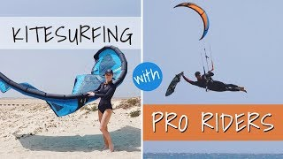Kitesurfing with Pro Riders in Sal, Cape Verde - VLOG #25