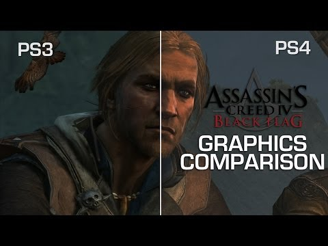 Assassin's Creed IV Graphics Comparison: PS3 vs PS4 - Is it worth the wait? - YouTube