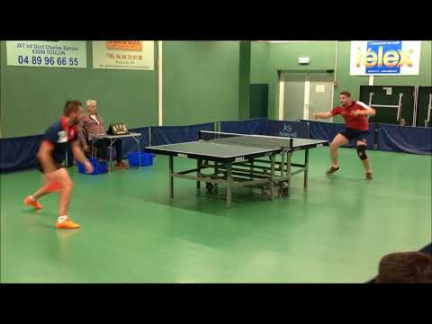 LA GARDE VS FONTENAY / N2 /  2018 / France / Table Tennis