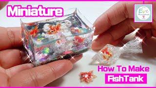 How to make Miniature Fishtank…