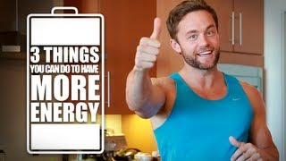 3 Ways to Get More Energy & Increase Mental Focus!(http://fitlife.tv/saturday-strategy-energy/ http://fitlife.tv http://juicewithdrew.com Hello Fitlifers! Welcome to another Saturday Strategy and I'm very glad that you're ..., 2013-08-31T06:42:43.000Z)