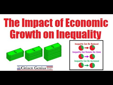 The Impact of Economic Growth on Inequality