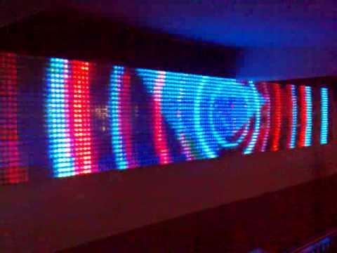 Led Graphic Wall Claremont Niteclub Lahinch Youtube
