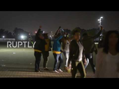 South Africa: 2 dead and 17 injured in crush at South Africa's largest football stadium
