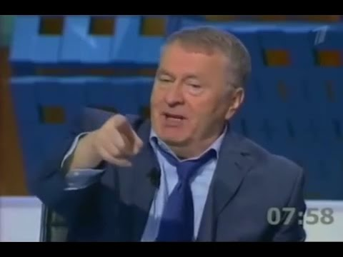 Russian politics. Elections 2012 debate. Zhirinovsky vs Zyuganov (English subs)