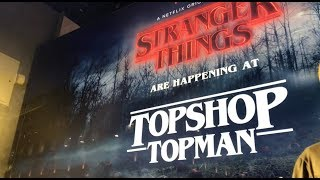 Stranger Things at Topshop Oxford Circus
