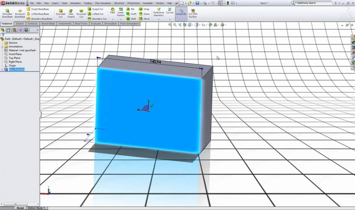 Solidworks Tutorial Background And Color Settings Youtube