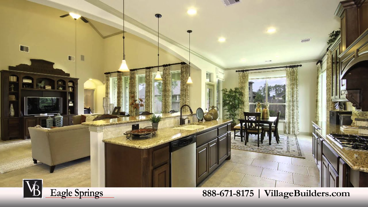 Eagle springs model homes