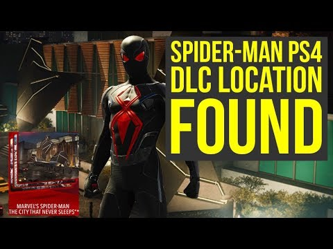 Spider Man PS4 DLC Location FOUND & It's Accessible, But There Is Not Much  Yet (Spiderman PS4 DLC)